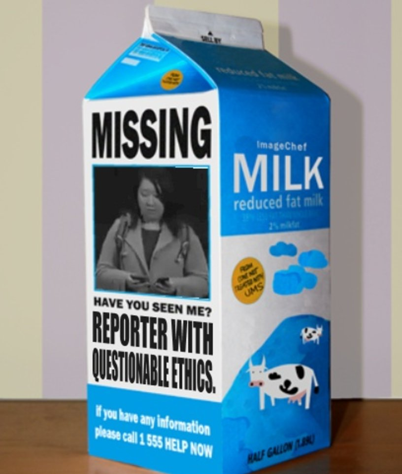 This will make finding the actual #Tillerson confirmation hearing reporter easier.  #IFindItShocking that she&#39;s gone missing in DC...<br>http://pic.twitter.com/pd3p1nVSZl