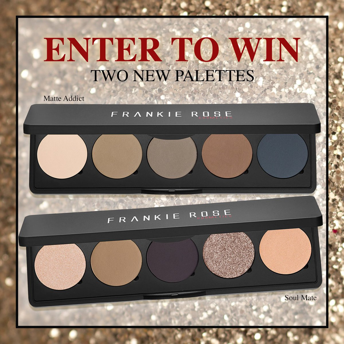 rt @PlanetBeauty  RT & Follow us and @FrankieRoseCo to enter to #win a new palette! #iheartpb #giveaway https://t.co/0CcdmtxFfc