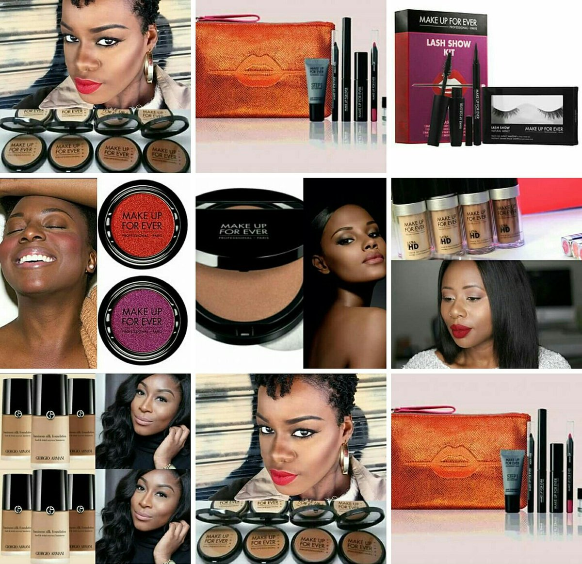 Nouveautés: Makeup Forever Lancome Armani #MakeupAddict #beautyaddict #thearabeauty #Dakar<br>http://pic.twitter.com/o8l2QOEVMm