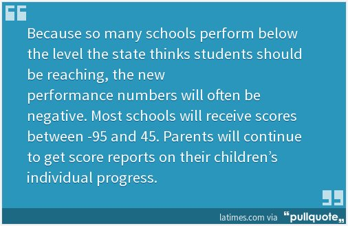Why California parents will soon have a new way to think about test scores - LA Times https://t.co/WlPhdMsIQO https://t.co/sg2INAF8A5