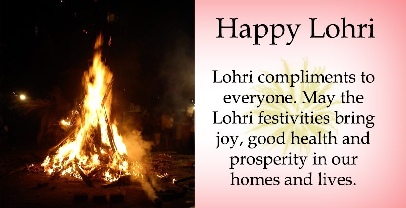 #Lohri best wishes to everyone https://t.co/yIPhp8HS8g