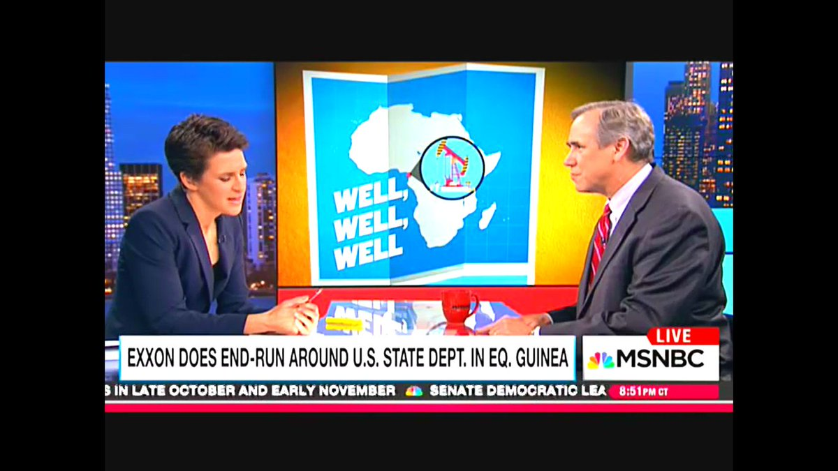 #EquitorialGuinea  #Exxon filters #Billions to the #Riggedgovernment - #kingLeopoldII is still #alive and #breathing  @maddow @Lawrence @am<br>http://pic.twitter.com/5f5pKDhpna