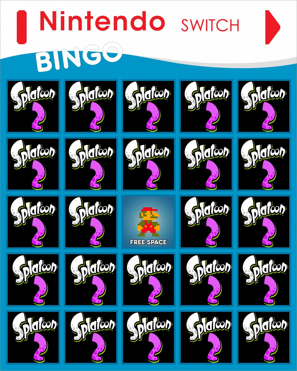 heres the only #nintendoswitch bingo card you need https://t.co/M5SLz8jveG