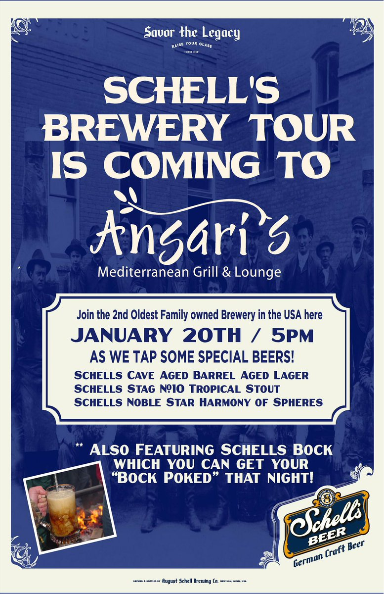 Schell 39 s brewery schellsbrewery twitter for Mankato craft beer expo