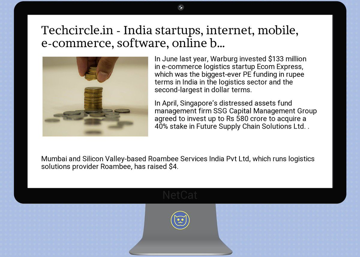 #startup #summary:  #techcircle.in -  #india  #startups,  #internet, mobile, e-commerce,  #software, online  #bus<br>http://pic.twitter.com/TpPCtfHO92