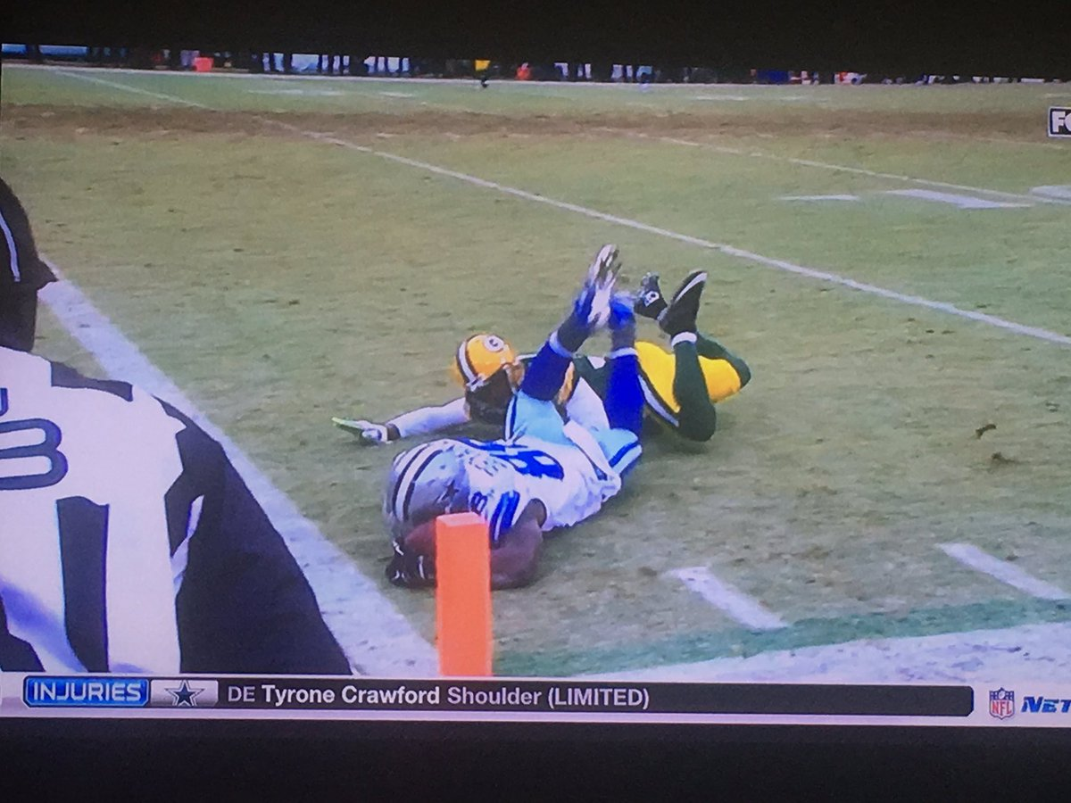 Uh oh. Turned on @nflnetwork, airing of 'NFL Classic Games' and ... #DezCaughtIt