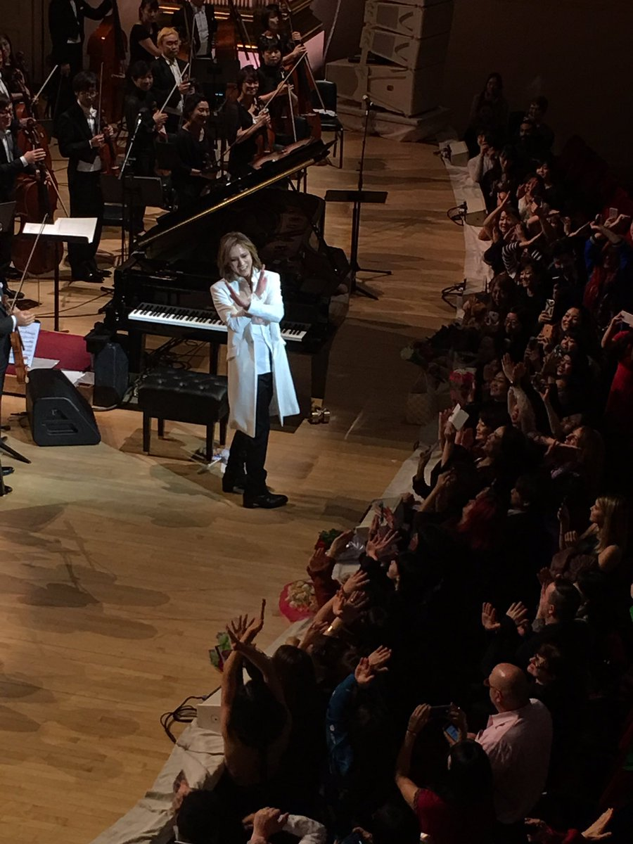 #X @YoshikiOfficial  with the fans!!  What a memorable night!!! #YoshikiCarnegieHall #Yoshiki <br>http://pic.twitter.com/u7Doz063dN