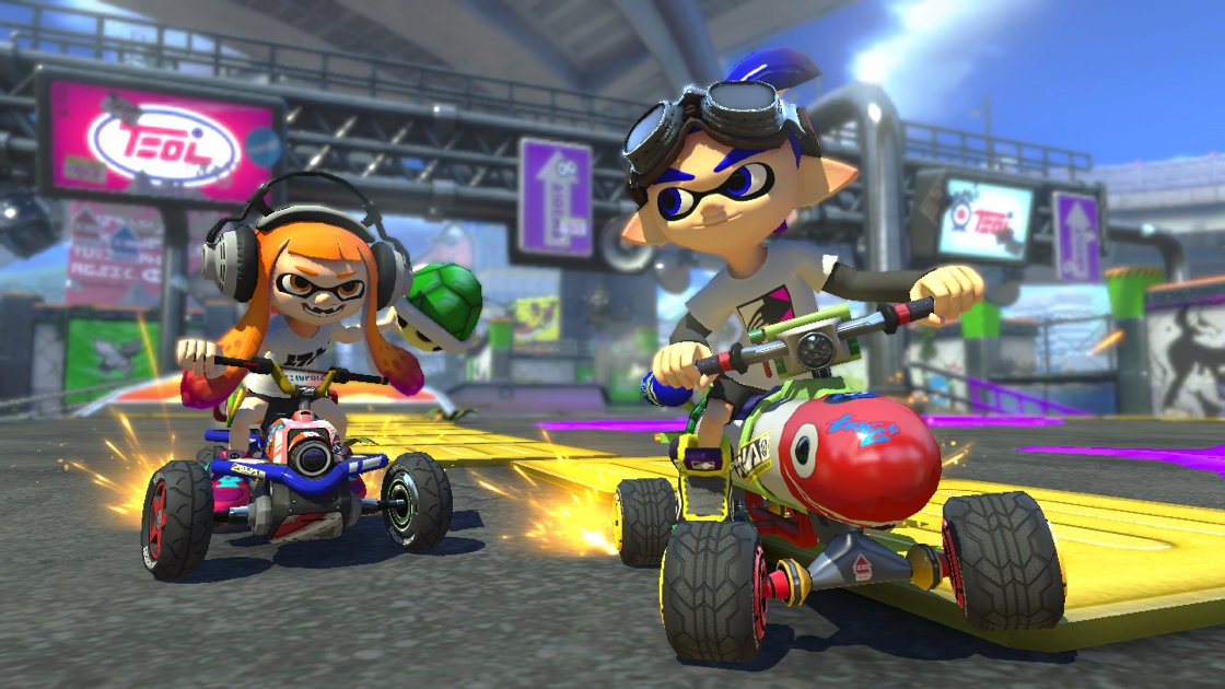 Inklings will be playable in Mario Kart 8 Deluxe! https://t.co/pXTVCw5T8e