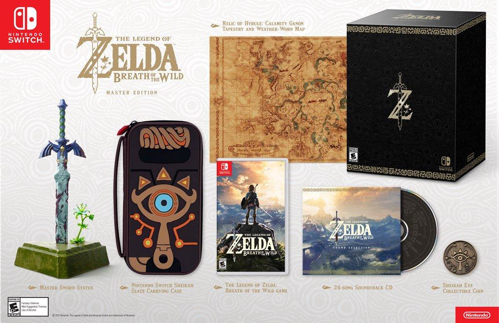 ¡NUESTRA CARTERAAAA! Anuncian edición de colección de The Legend of Zelda: Breath of the Wild https://t.co/5Ma0PazplK