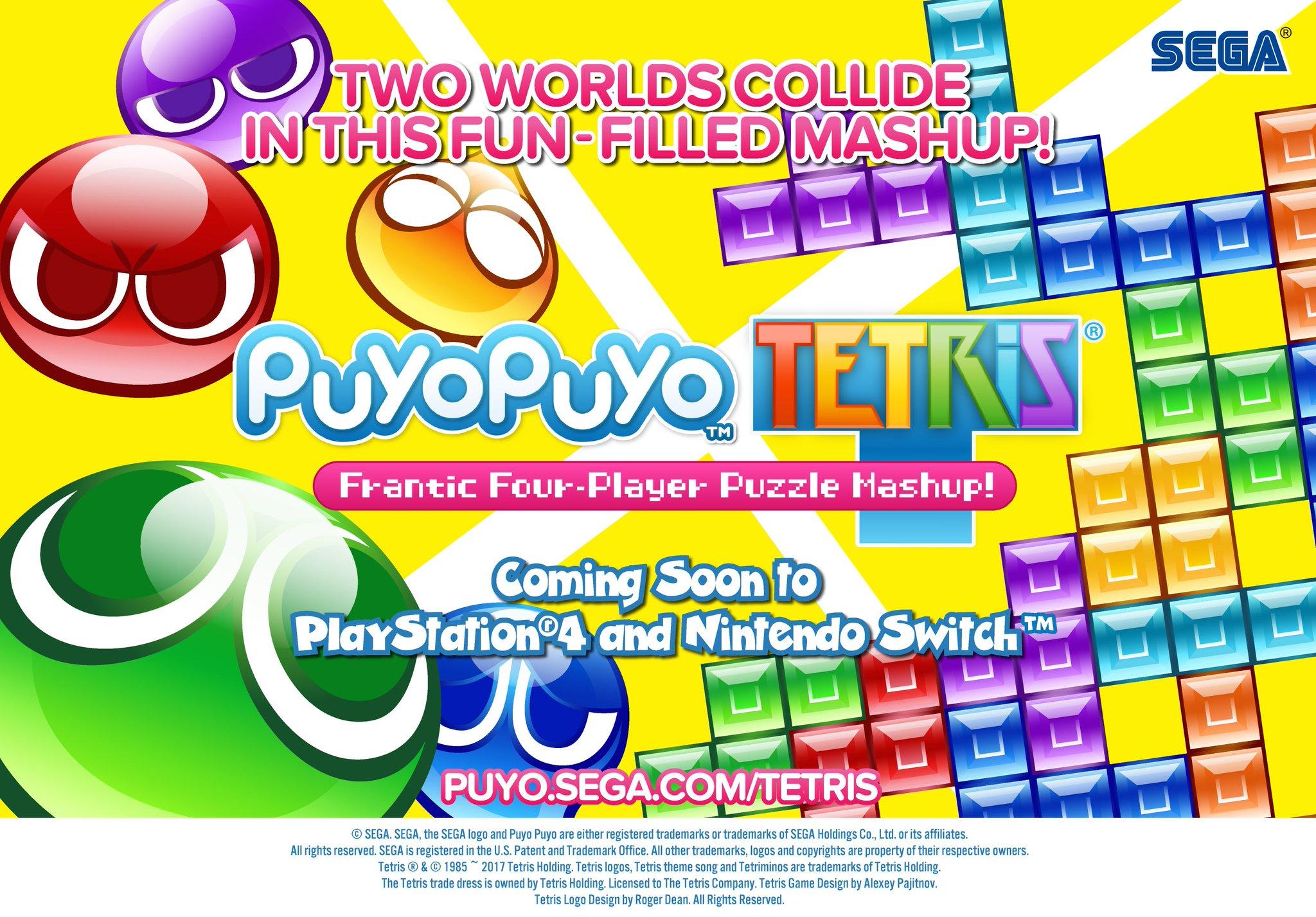 Puyo Puyo Tetris llegará a PS4 y traducido al inglés