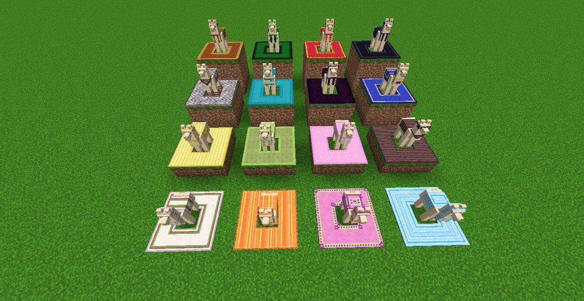 Marc Watson On Twitter Cool Idea Minecraft Carpets Re Textured To