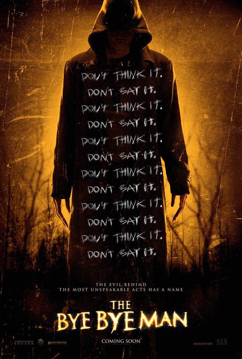 Make sure you see @ItsLucien in @TheByeByeMan. Out in cinema's today! #Dontthinkitdontsayit