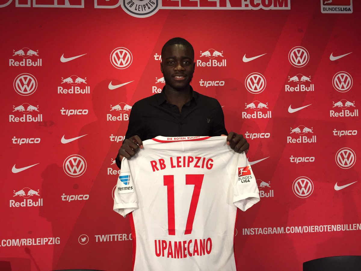 Rb Leipzig English On Twitter Dayot Upamecano Has Signed For Dierotenbullen From Redbullsalzburg The 18 Year Old Has Signed A Contract Until June 2 0 2 1 Https T Co Mscgwwe5xs
