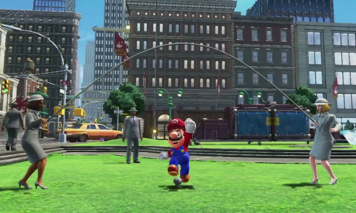 UK gamers waking up to the troubling news that Mario is canonically waist-high compared to other humans. https://t.co/7UbCvRTqY4