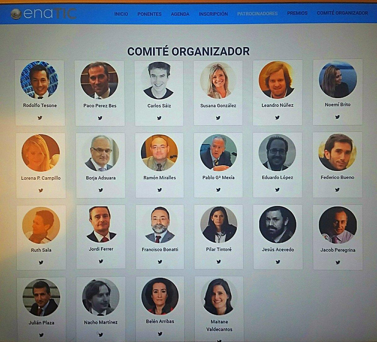 #FF por la #entrega, la #ilusión y el #trabajazo al #DreamTeamENATIC y Comité Organizador de #CongrENATIC Muchas ganas! Os esperamos! :)<br>http://pic.twitter.com/Keah8d5pxz