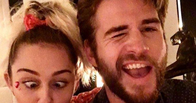 "Miley Cyrus wishes \""best friend\"" Liam Hemsworth a happy birthday:"