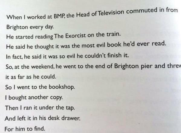 Remember William Peter Blatty with this glorious anecdote about his book