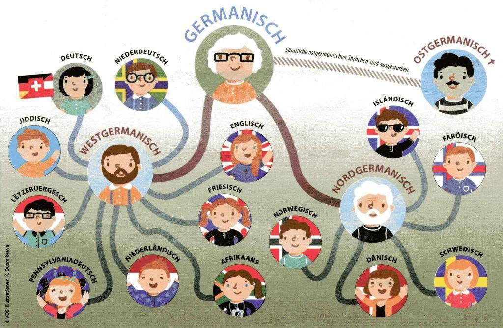 Meet the members of #Germanic #language family! https://t.co/8phVQI9bLt