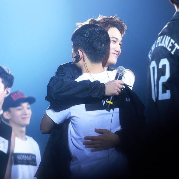... our birthday tomorrow #kaisoo #happykaisooday #happykyungsooday #happyjonginday <br>http://pic.twitter.com/A6vfnX7nbx