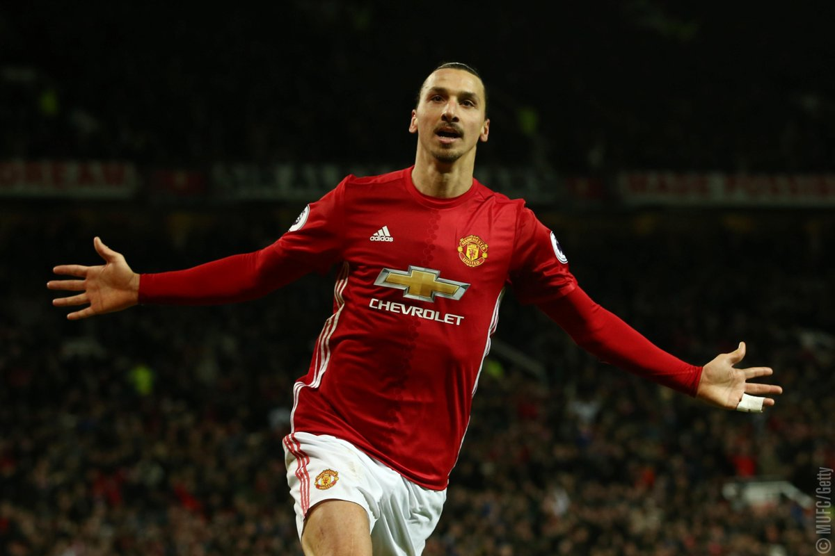 "Manchester United On Twitter ""Who Else But Zlatan"