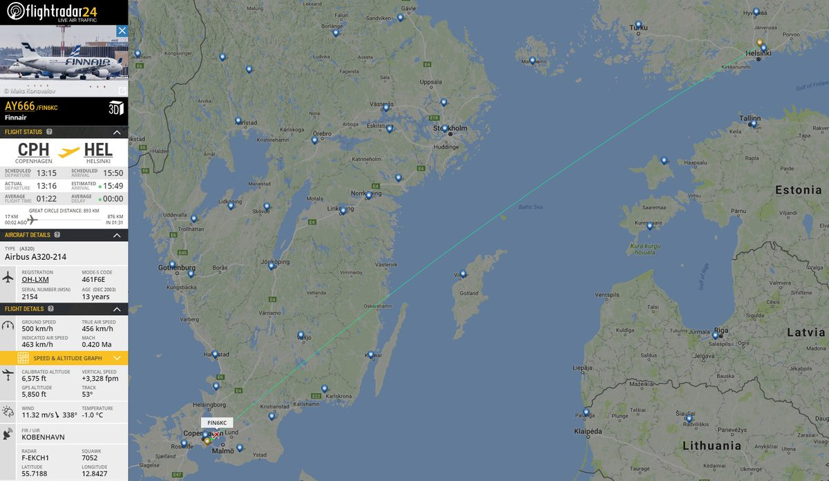 Would you dare to sit in row 13, on board @Finnair flight 666 en route to HEL on Friday the 13th?  https://t.co/lKujhSu0gP
