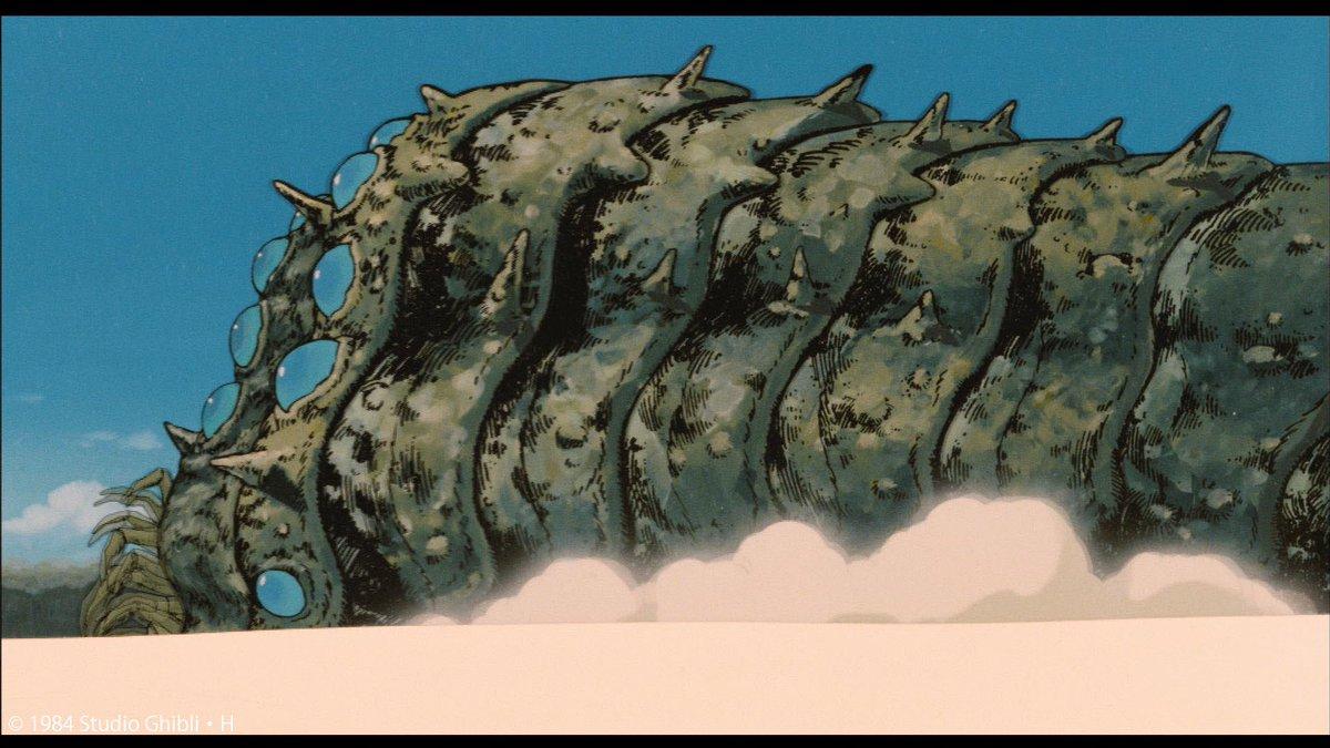 風の谷のナウシカの王蟲