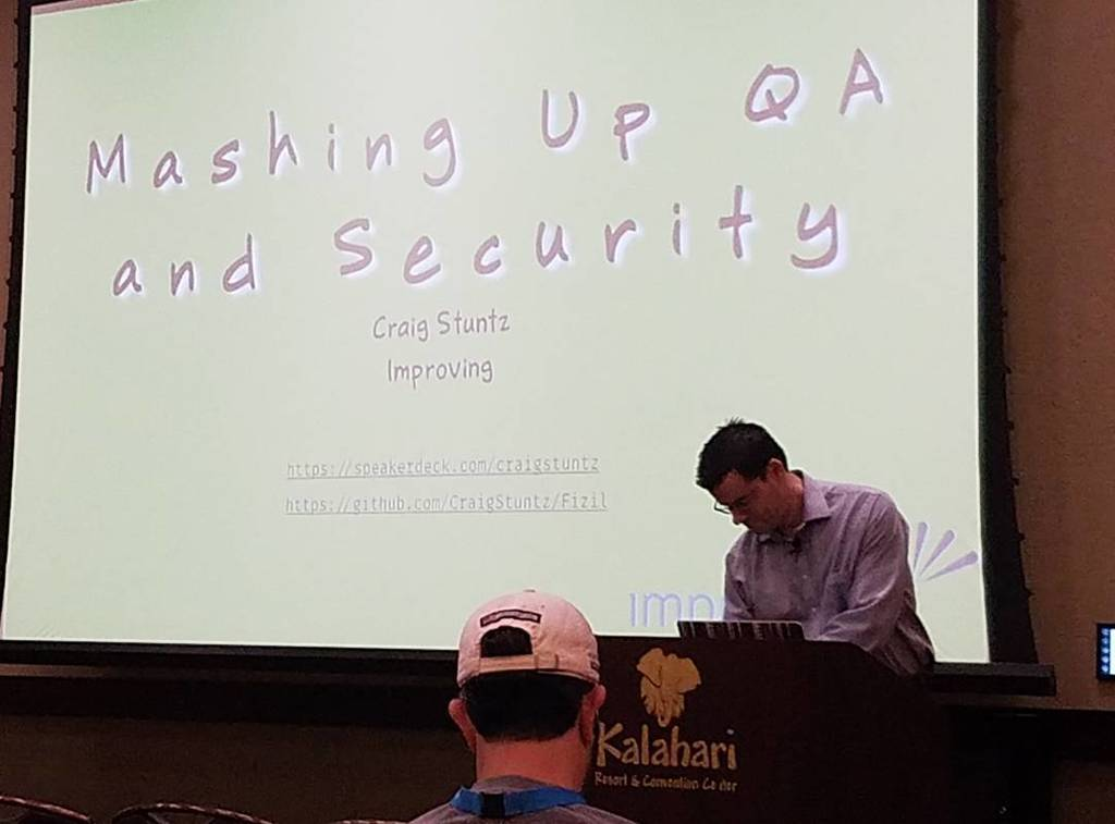 Resources for mashing up QAs and security @craigstuntz #codemash https://t.co/TPJ0gyo1yk https://t.co/fXVhPYJIM1