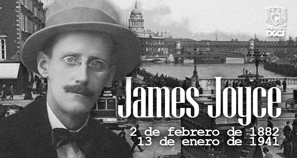 #UnDíaComoHoy de 1941 falleció James Joyce, autor de una de las obras...