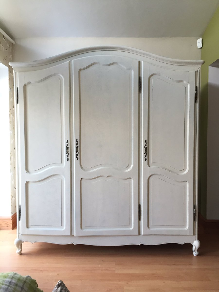 Dp French Interiors On Twitter 3 Door Vintage French Wardrobe