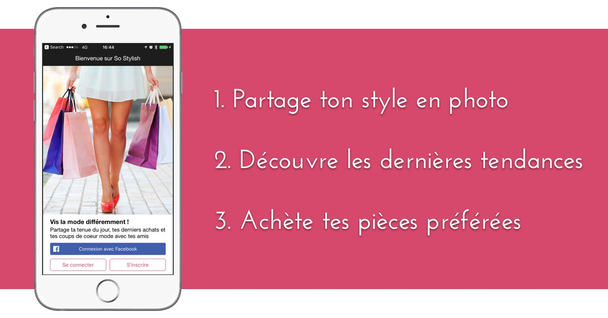 L&#39;appli SO STYLISH est maintenant disponible sur l&#39;App Store - va vite la télécharger ! #fashionblogger #style #ootd  http:// apple.co/2iknFxb  &nbsp;  <br>http://pic.twitter.com/BKteV08fEG