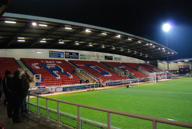 Coral On Twitter Nene Park The Former Home Of Rushden