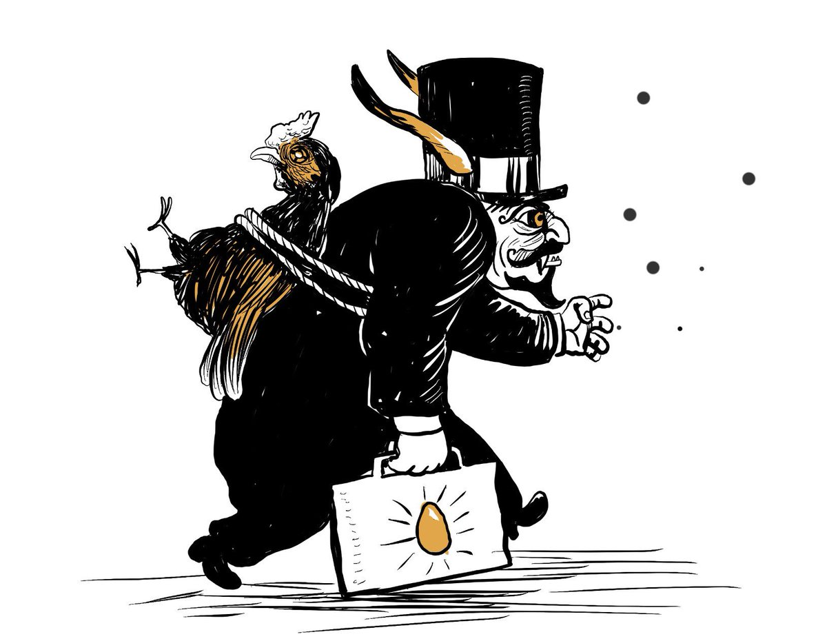 Se acabó la gallina de los huevos de oro https://t.co/rvyIxsTpW9