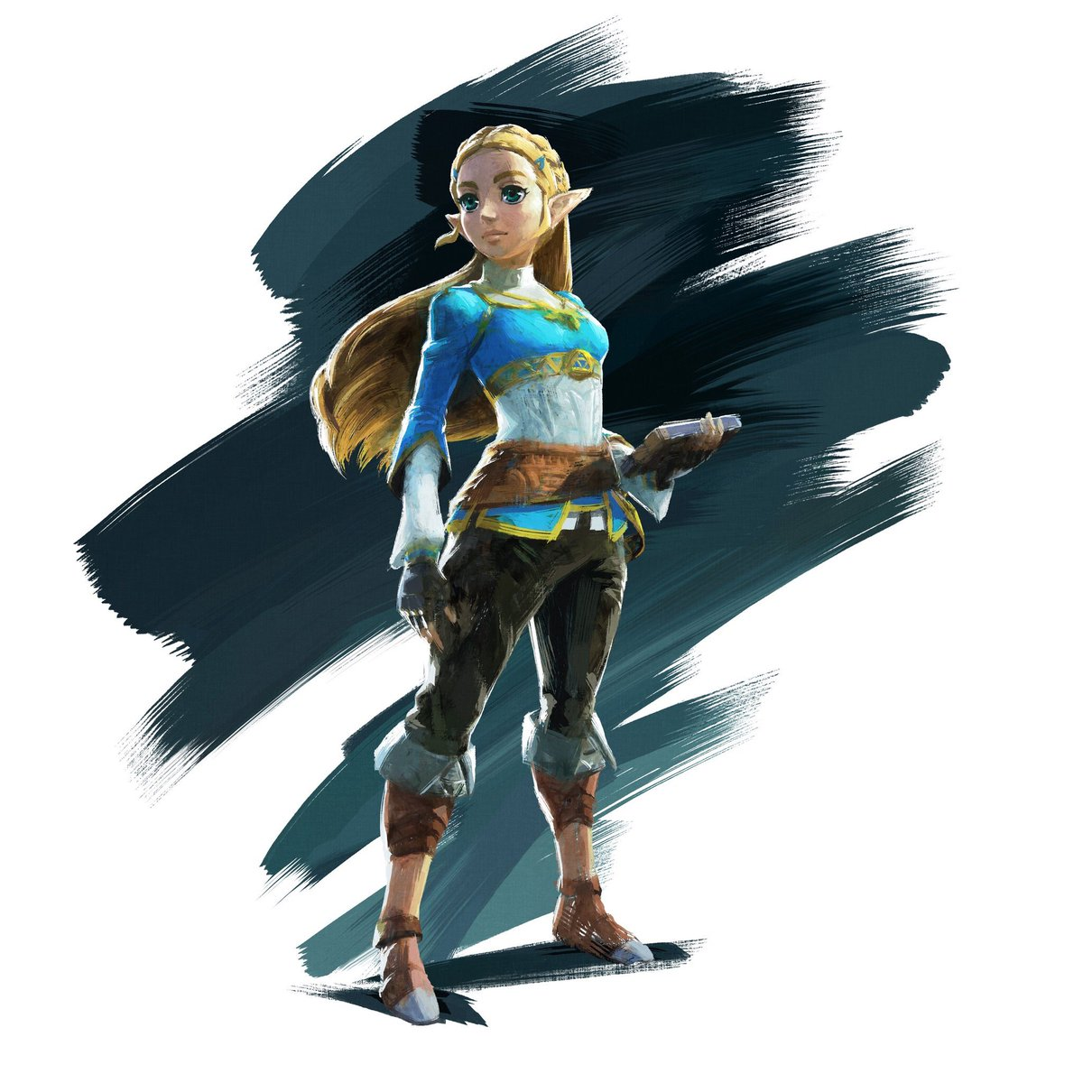 Official artwork of Zelda! #BreathOfTheWild https://t.co/XqeWKhpP4O