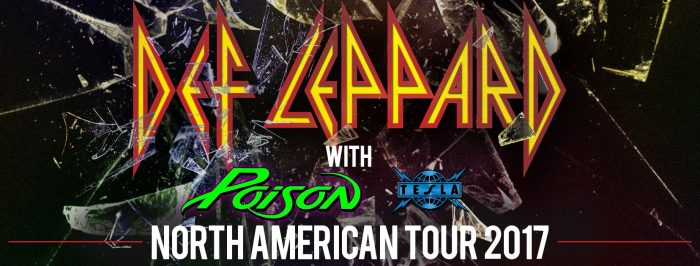 Def Leppard & Poison Tour 2017