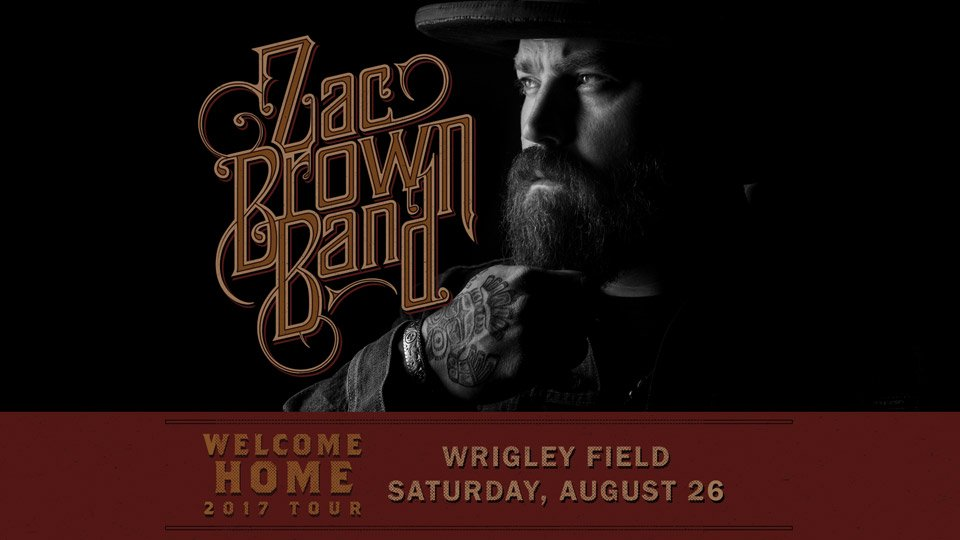 It may be #ColderWeather now, but @ZacBrownBand is playing at #Wrigley...