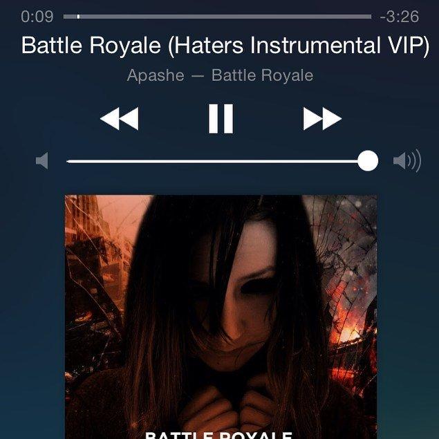 http:// bit.ly/2jFscX4  &nbsp;   Battle Royale Apashe ... @apashe ... #eletronic #drumbass ... #music #track #play #share #…<br>http://pic.twitter.com/7S1nk75pOP