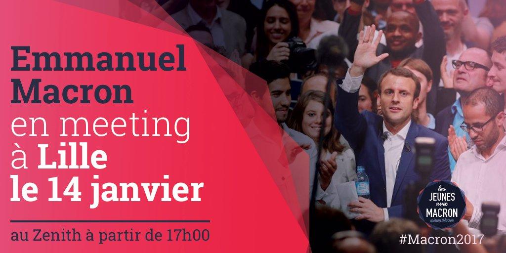Rendez-vous demain pour le grand meeting d&#39;@EmmanuelMacron au Zénith de Lille  https://www. facebook.com/events/1301174 709951756/ &nbsp; …  #MacronLille #Macron2017 <br>http://pic.twitter.com/IooOYWsRHK
