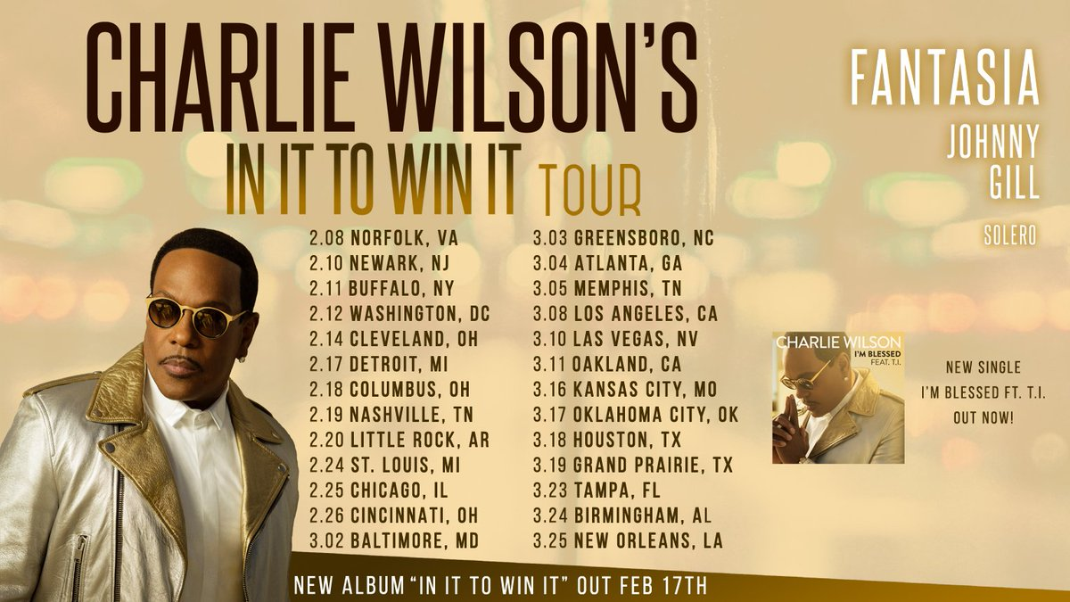 Charlie wilson tour dates