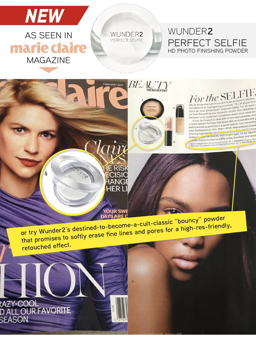 Wunder2 On Twitter As Seen In At Marieclaire Magazine Perfect