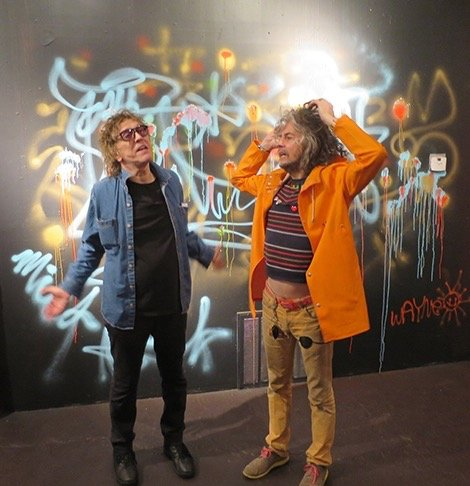 Mick Rock Happy birthday to Wayne Coyne of the Flaming Lips!
