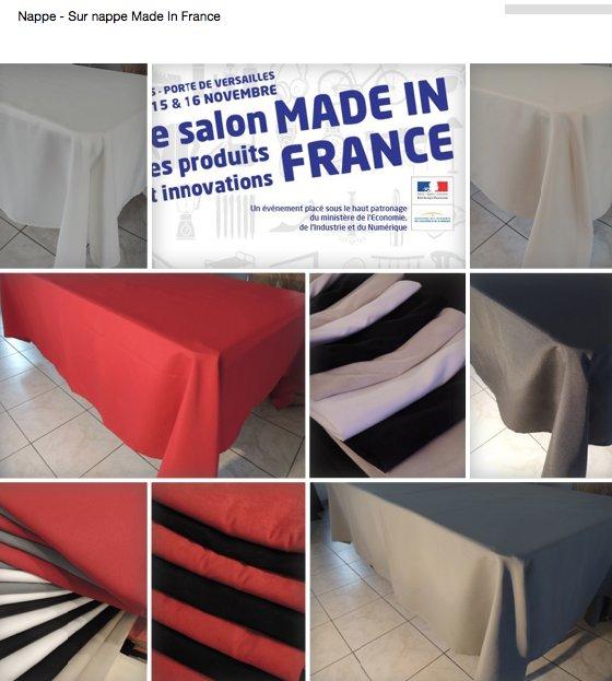 #soldes #madeinfrance  http://www. lanappefrancaise.com  &nbsp;   nappe, sur nappe, chemin de table, voilage #decoration #artisans @CfaitOu #nantes<br>http://pic.twitter.com/MAflVbKKlx