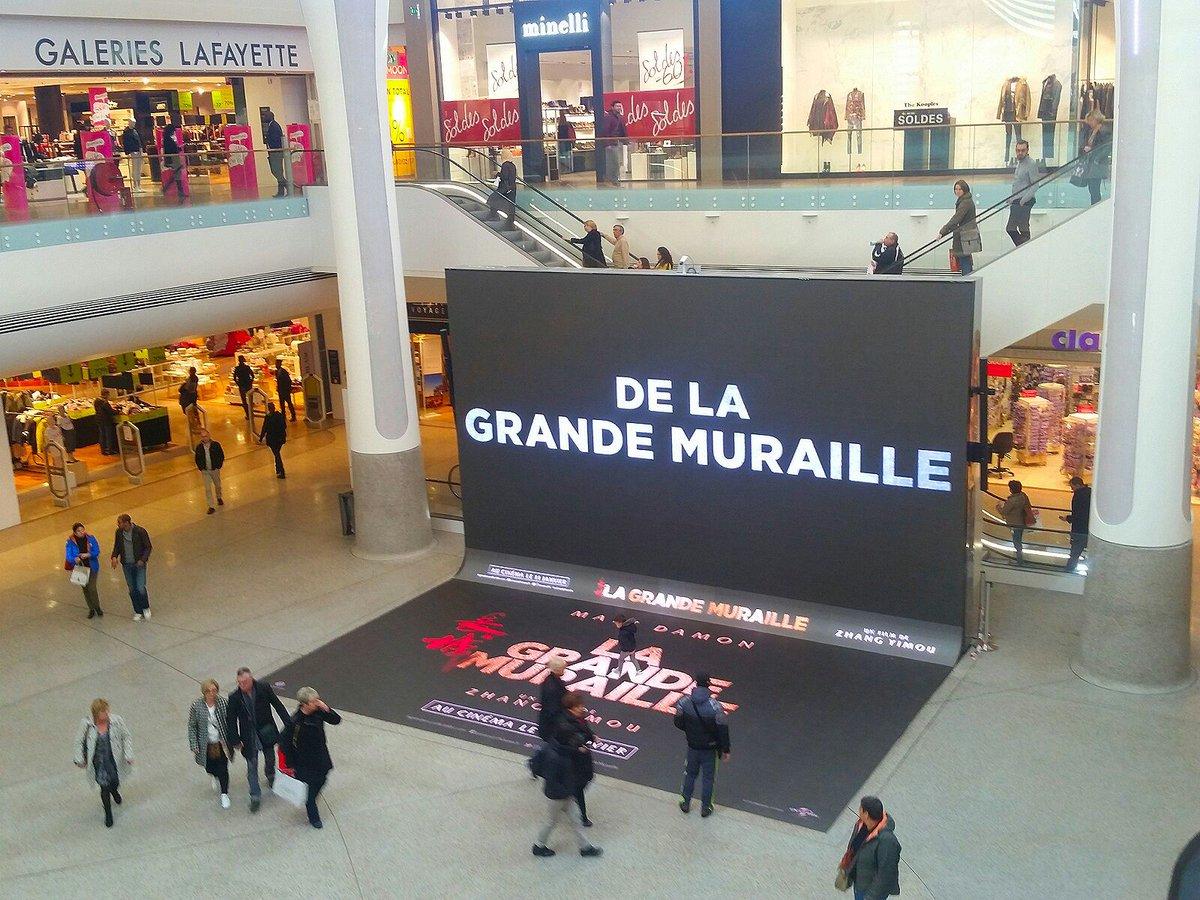 Bravo @UniversalFR et @CCap3000 pour cette belle immersion digitale #la grande muraille avec @mattdamon_ !<br>http://pic.twitter.com/tHbdgAMEY0