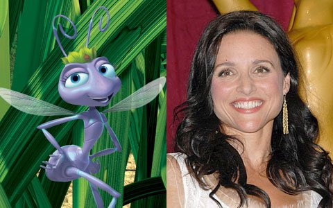 Happy birthday to Julia Louis-Dreyfus, the voice of Atta from A BUG\S LIFE!