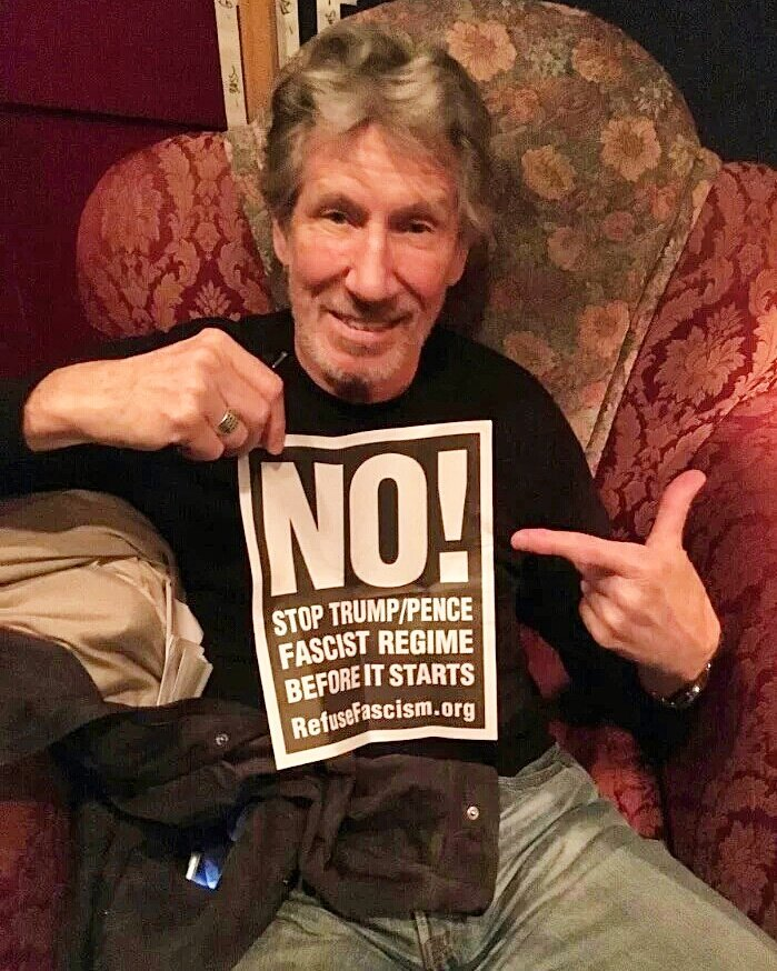 Roger Waters says NO! Prevent Trump/Pence Regime before it starts. Flood Wash. DC starting Jan 14th! #NoFascistUSA https://t.co/TElMldXbop