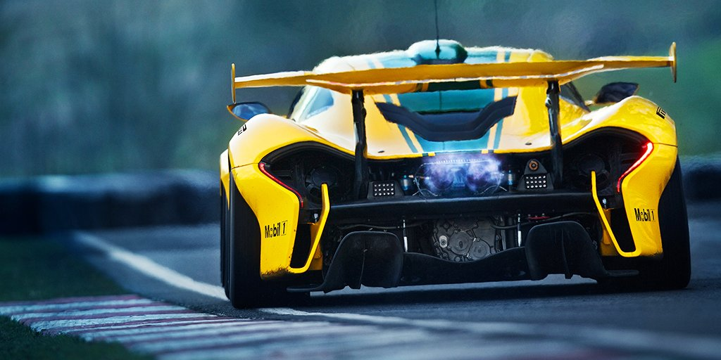 The P1 GTR's twin-turbo 3.8-litre V8 eng...