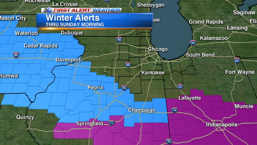 Abc 7 Chicago On Twitter Winter Storm Watch 6pm Today Sunday