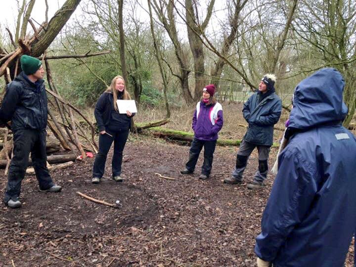 An amazing progression week in Cambridge with this lot - #ForestSchools #OutdoorLearning<br>http://pic.twitter.com/u54bakkhGn