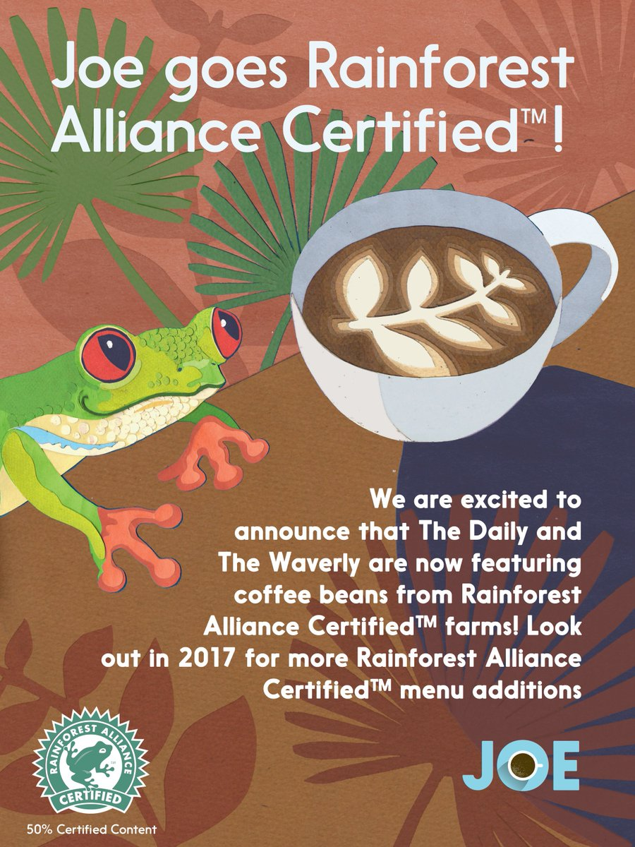 Making big moves on the path to full @RnfrstAlliance certification in 2017! https://t.co/Ux6YMWux3U