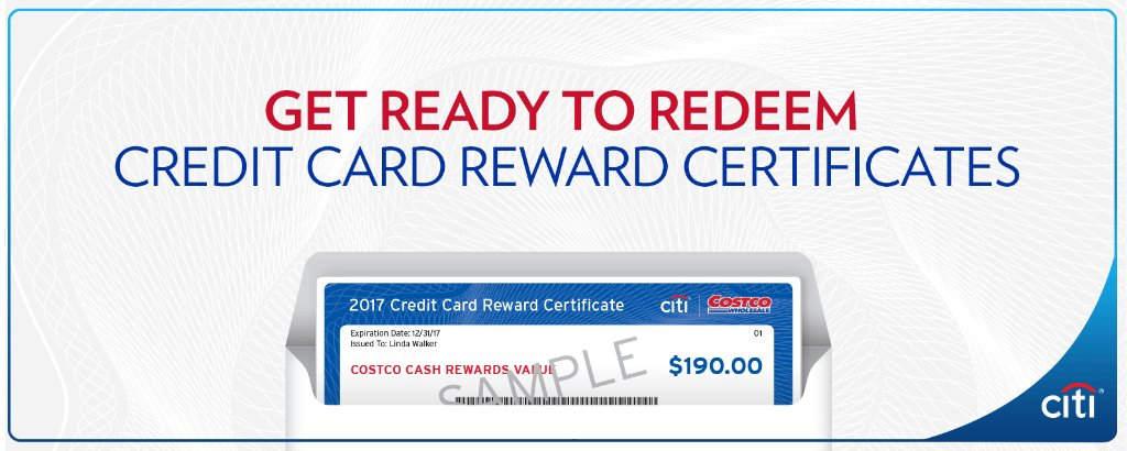Ask Citi On Twitter Costco Credit Card Reward Certificates Will Be