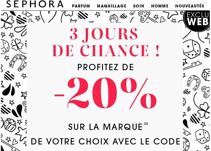 Bon week end chez #Sephora! 20% de remise sur la marque de votre choix et sa sur tout le site avec ce #code promo  http:// ow.ly/7Tzu307YRmG  &nbsp;  <br>http://pic.twitter.com/wHNNzZj0RD